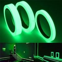یک متر نوار چسب فلورسنت عرض 1 سانتی متر دارای خاصیت نوردهی