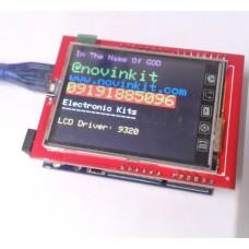 "شیلد نمایشگر LCD گرافیکی رنگی ""2.4"