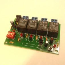 گیرنده 4 کانال کد لرن IR