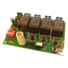 گیرنده 4 کانال  رادیویی