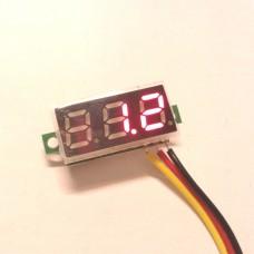 ولتمتر 0 تا 100 ولت 0.28 اینچ
